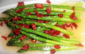 Super Easy Marinated Asparagus