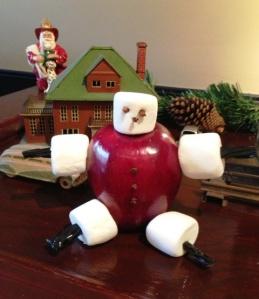 Apple Santa